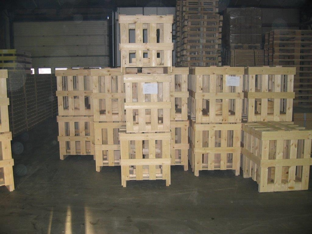 Industriele verpakking, kisten & kratten
