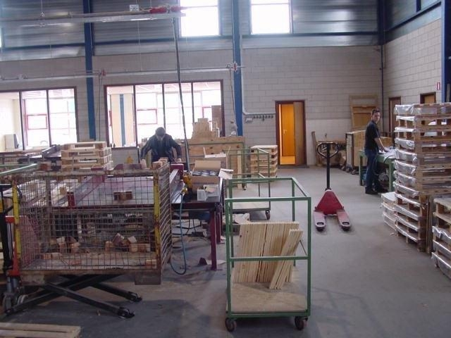 Renovatie pallets